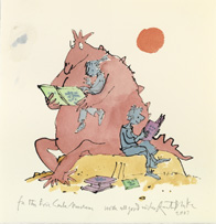 Illustration from the Permanent Collection at The Eric Carle Museum of Picture Book Art © 2007 by Quentin Blake