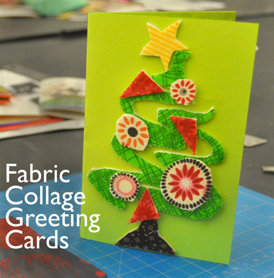 Fabric collage greeting cards carle museum m4hsunfo