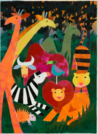 Illustration from the Permanent Collection at The Eric Carle Museum of Picture Book Art © 1989 by Norman Gorbaty