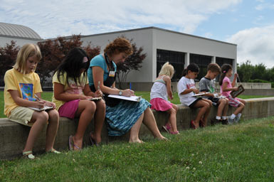 Outdoor Drawing Carle Museum