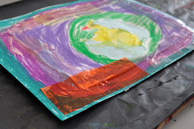 Tissue-Paper-Collage - The Eric Carle Museum