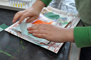 Tissue Paper Collage-The Eric Carle Musuem