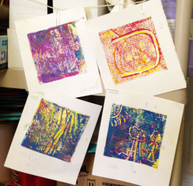 Printmaking With 4th And 5th Graders Eric Carle Museum Studio Blog