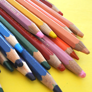 Large Colored Pencils / The Art Studio's Favorite Materials / The Eric Carle Museum of Picture Book Art
