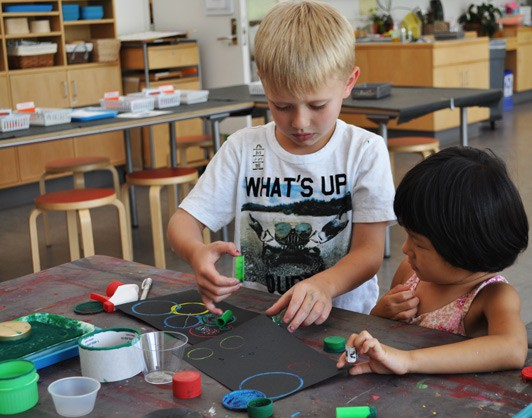 Art Olympics | Making Art With Chilren | The Eric Carle Museum of Picture Book Art