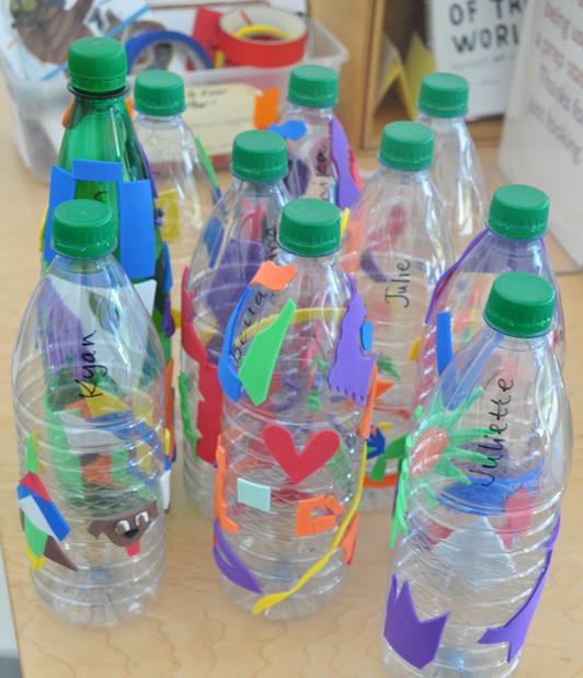Water Bottle Projects: Water Bottle Prints