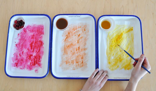 Staining Paper with Natural Dyes | Carle Museum