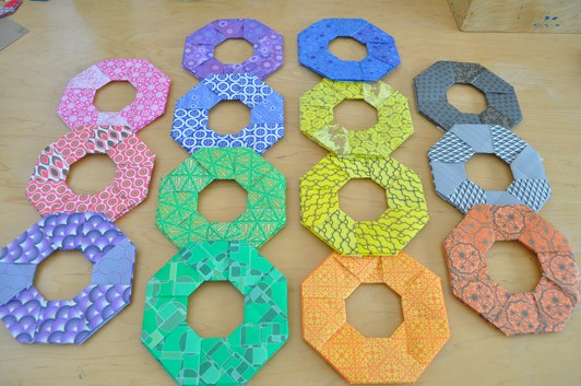 How to Make 3D Origami Magic Circle (Medium Easy) | Recipe ... | 353x532