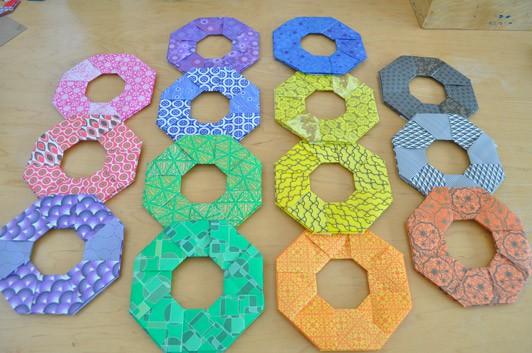 Origami die Kunst des Papierfaltens: Origami Magic Circle | 353x532
