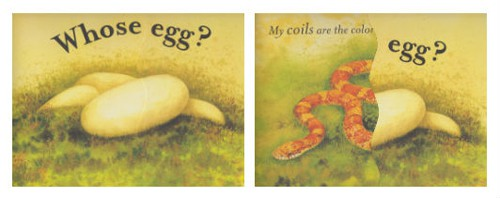 Image of: Engaged The Question Eric Carle Museum What Will Hatch Egg Identification Picture Books Carle Museum