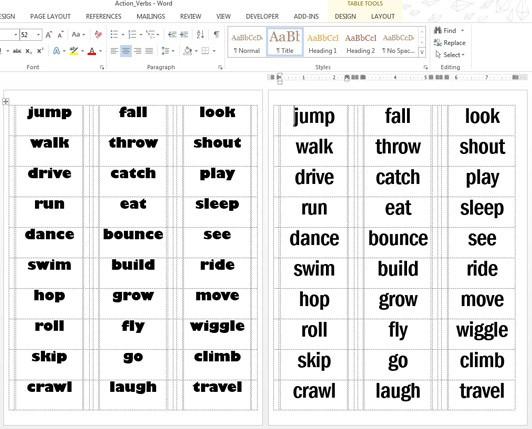 9 letter verbs
